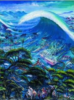 Richard Onyango, Tsunami, 2005 (Collezione Pigozzi, Ginevra)