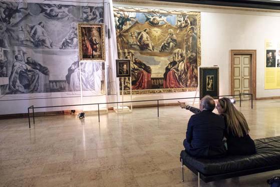 Cultura italia camera degli sposi rinnovato il percorso for Sala degli sposi