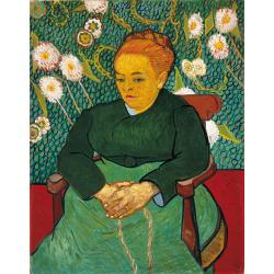 Vincent van Gogh, Madame Roulin (La Berceuse), 1888-1889, oil on canvas, 92,7x72,7 cm, Boston, Museum of Fine Arts