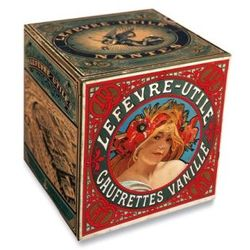 "Alphonse Mucha, Box for the ""Gaufrettes Vanille"" Lefèvre-Utile biscuits"