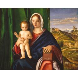 Giovanni Bellini, Madonna with Child, 1509, oil on board, 84,8x106 cm, Detroit, Detroit Institute of Arts