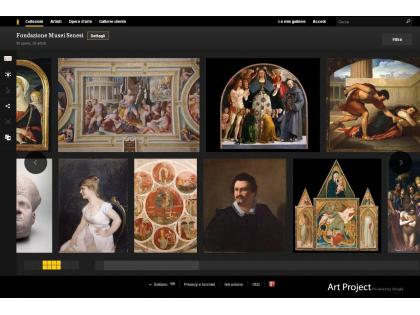 [Four more Italian museums join Google Art Project]