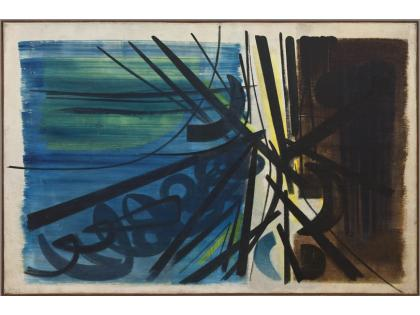Hans Hartung, Composition T. 50-5, 1950