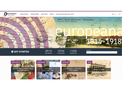 Europeana Transcribathon