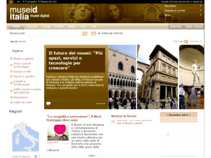 [MuseiD-Italia is born, an online digital display case for sites of cultural interest]
