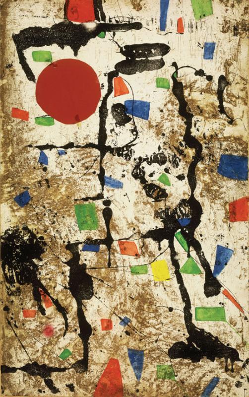 Cultura Italia Miró E Marino Maestri Del Colore