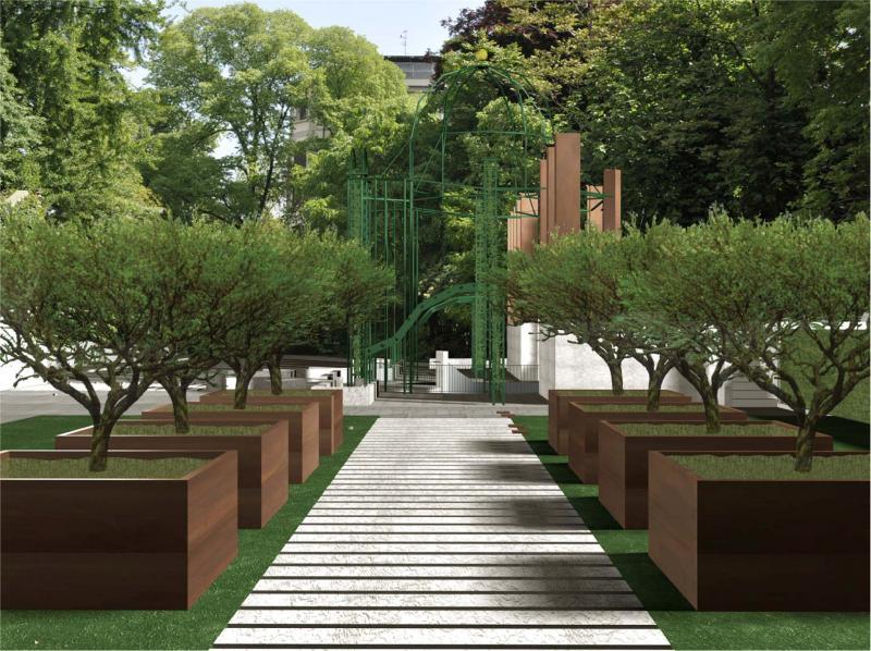 Museid cultura italia palazzo citterio progetti per un - Giardini di design ...